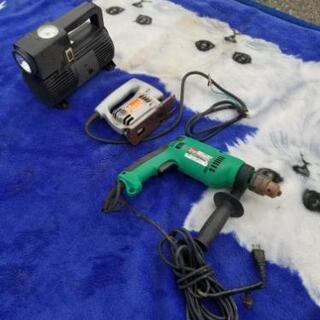 電動工具 エアーコンプレッサー(車載用)