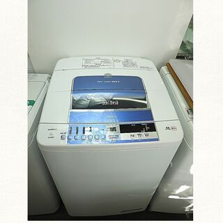 ★京都市内+隣接地域配達無料☆全自動洗濯機 ヒタチ 8K BEA...