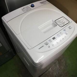 daewoo 洗濯機 5kg