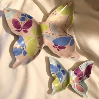 蝶々のお皿 和皿