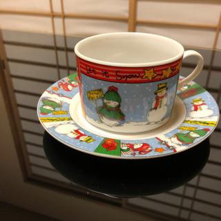 スノーマン コーヒーカップ&ソーサー