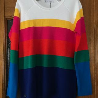新品 ラコステ セーター ニット ボーダーセーター