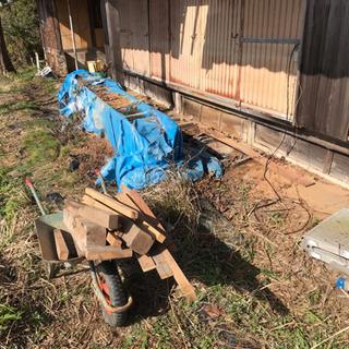 軽トラ1台分 取り放題 木材、鉄、工具、トタン等 千円 - その他