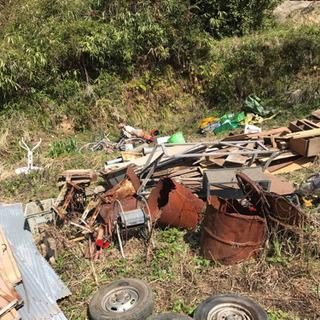軽トラ1台分 取り放題 木材、鉄、工具、トタン等 千円 - 大飯郡