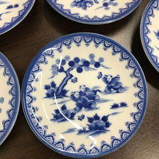 🌸決算セール🌺唐子 絵皿 5枚 中国③🌷