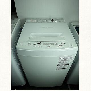 ★京都市内+隣接地域配達無料☆全自動洗濯機 東芝 4.5K A...
