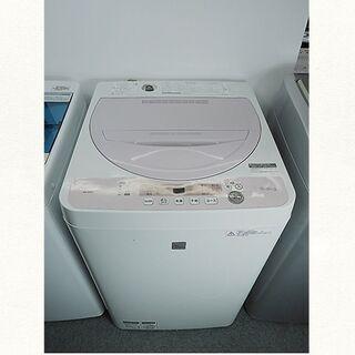 ★京都市内+隣接地域配達無料☆全自動洗濯機 シャープ 5.5K ...