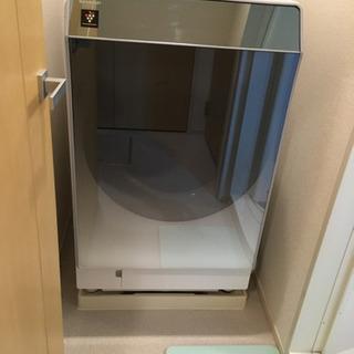 【ネット決済】終了 シャープ ドラム式洗濯乾燥機 es-p110-sl