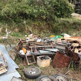 軽トラ1台分 取り放題 木材、鉄、工具、トタン等 1万円