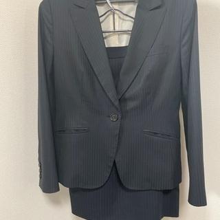 ネイビー ストライプ スーツ