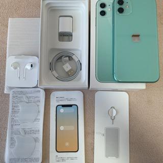【ネット決済・配送可】【美品】SIMフリー  iPhone11 ...