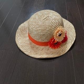 女児麦わら帽子