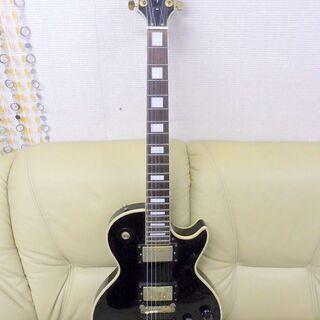 成約済み。価格変更しました。Photogenic エレキギター レスポールカスタム ブラックビューティレプリカ 中古の画像