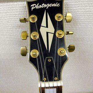 成約済み。価格変更しました。Photogenic エレキギター レスポールカスタム ブラックビューティレプリカ 中古 - 境港市