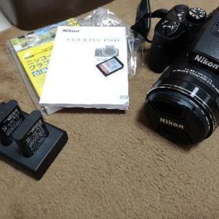 Nikon Coolpix P900 SDカード/レンズプロテク...
