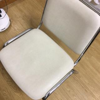 パイプ椅子二個譲ります(受け取り者決定した)