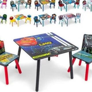 キッズテーブル テーブルセット デルタ テーブル & チェア 2...
