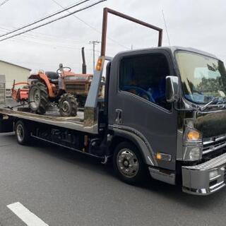 陸送 回送 トラクター 農機具 リフト 重機等