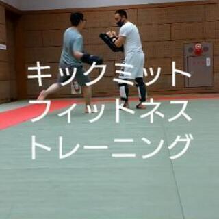 ストレス発散 キックボクシング ミットトレーニング   パーソナ...