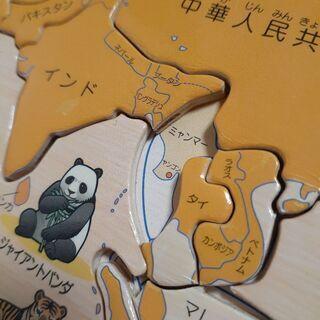 【譲り先決まりました🙇】木製パズル かるた - 京都市