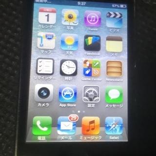 【国内初代iPhoneのiPhone3、32G、黒、可動品…