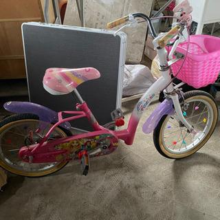 【ネット決済】子供用自転車 ディズニー プリンセス