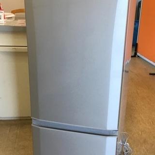 <美品>三菱・2ドア冷蔵庫・168L MR-P17A-S …