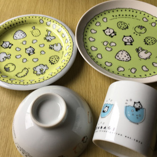 【ネット決済】たかはぎ幼稚園オリジナル 食器セット