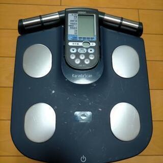 体重体組成計 オムロン カラダスキャンの画像
