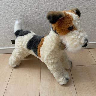 犬のぬいぐるみ ワイヤーフォックステリア