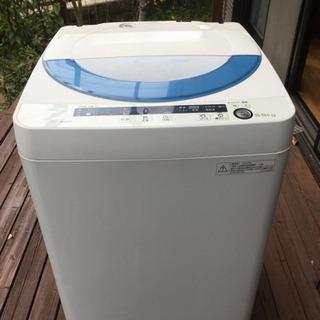 全自動洗濯機 SHARP 5.5kg ES-GE5P【相手決まり...