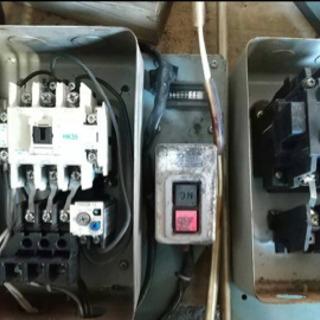 日立 ベビコン オイルフリー HITACHI BEBICON OIL FREE 5.5OU-9.5G5 コンプレッサー モーター  - 売ります・あげます