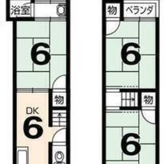 東映太秦映画村近くの戸建。ご家族や学生さんのシェア入居など。ペットは応相談!の画像