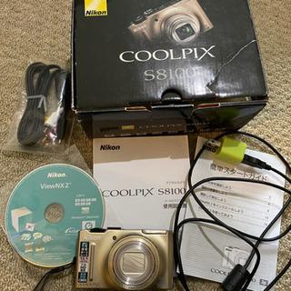 Nikon COOLPIX S8100 デジカメ 動作品