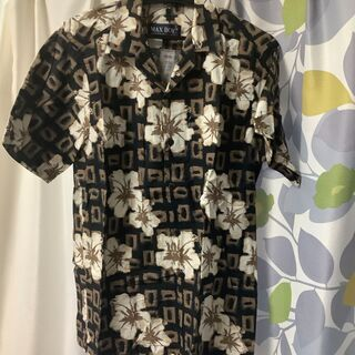 【ネット決済・配送可】MAX BOY アロハシャツ ハワイアンシ...