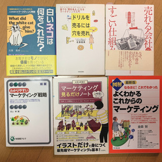 マーケティング関連書籍 6選