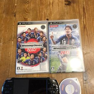決まりました!PSP本体 & ソフト3本セット