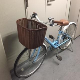 ジュニア24インチ自転車6段シフト - 文京区