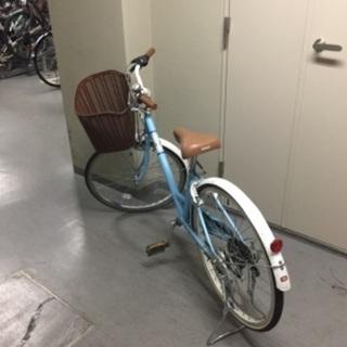 ジュニア24インチ自転車6段シフト - 自転車
