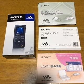 【取引決定】SONY ウォークマン NW-062