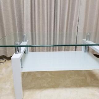 (受付終了)ガラステーブル