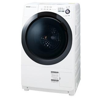値下げ シャープ ドラム式洗濯機  2017年製 7kg