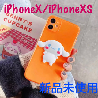 新品 iPhonex iPhoneXS シナモロール ケー…
