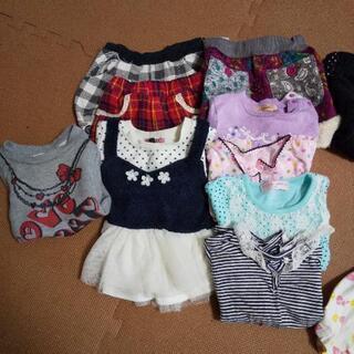 80~110センチ女の子服14点3月末までの画像