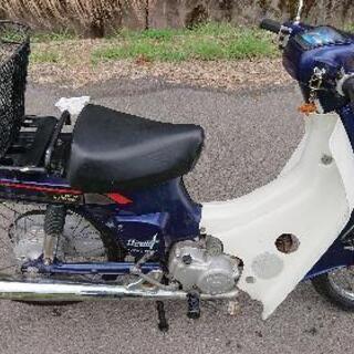 スズキバーディー50 (4サイクル)一発始動通勤可能