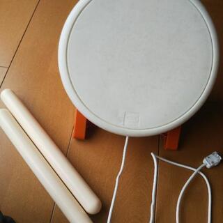太鼓の達人用  太鼓とバチと、WiiUソフト