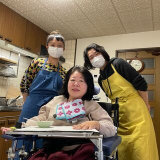 【天白区】車椅子女性の生活支援ヘルパー募集!★週1日から勤務でき...