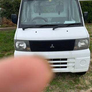 【ネット決済】三菱軽トラック、52700キロ。車種により車両交換...