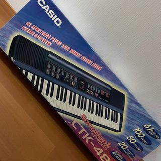 9/25受渡しは4000円に値下げ!電子ピアノ カシオCTK-480