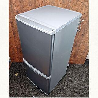 2ドア冷蔵庫(138L) パナソニック NR-B144W-…